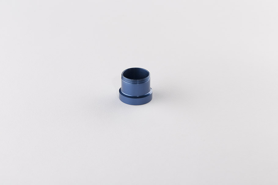 Leverlock Feedneck Adapter ION, Shocker, Spyder VS- Blue
