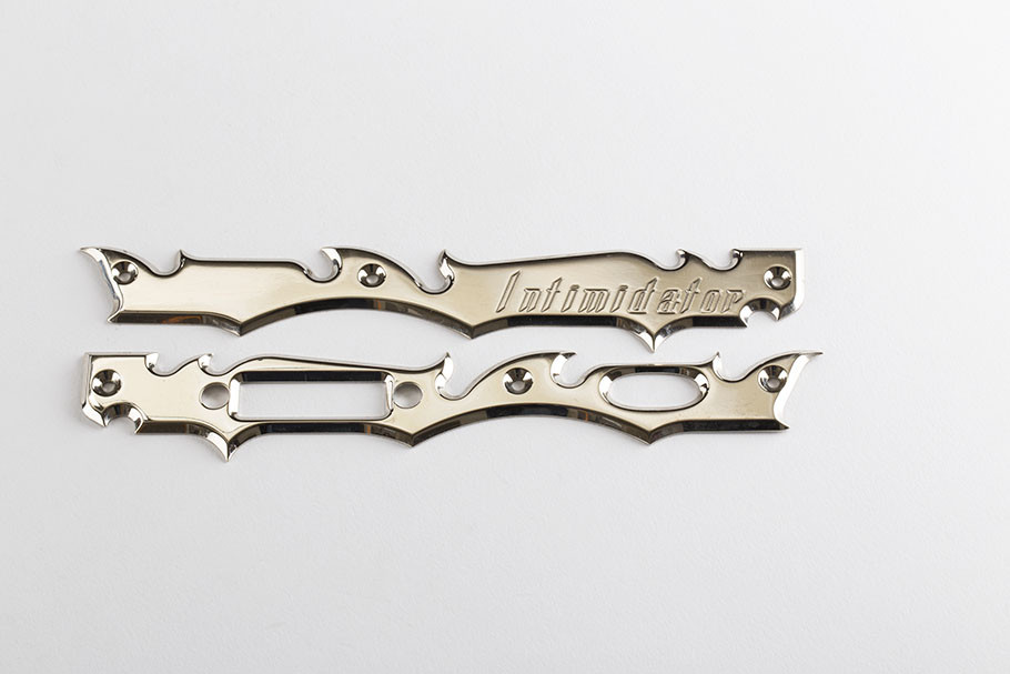 Gen 2 Laser Engraved Frame Plate- Chrome