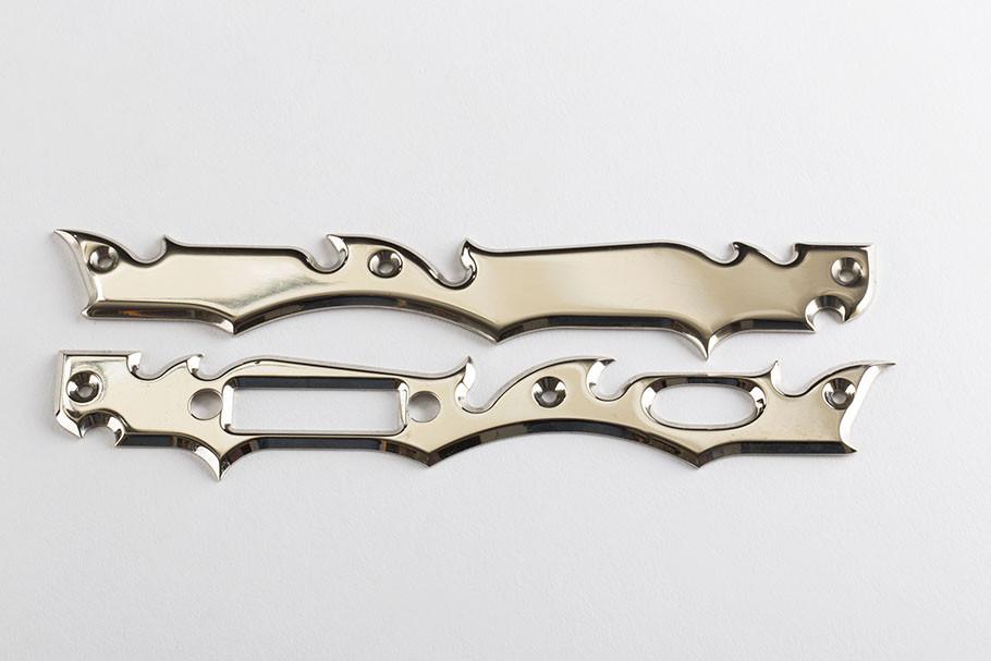 Standard Gen 2 Frame Plate- Chrome