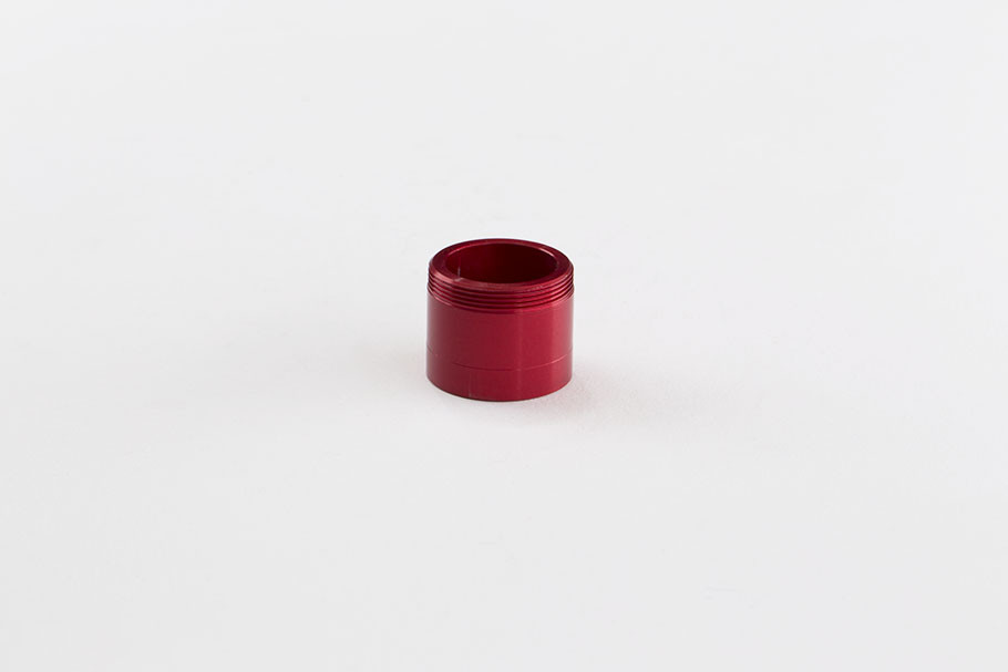 Leverlock Feedneck Adapter Dye, PM, PMR, SLG- Fiery Red