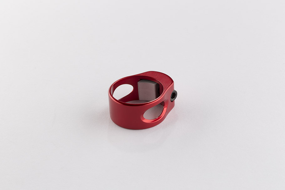 NEW Closer Collar Complete- Fiery Red