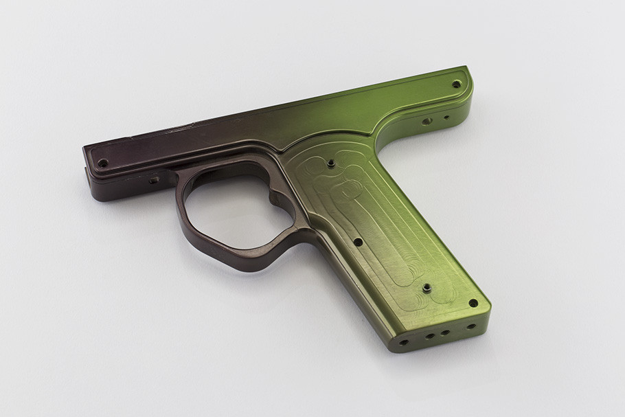 GZ 45 Frame- Black w/ Green Fade