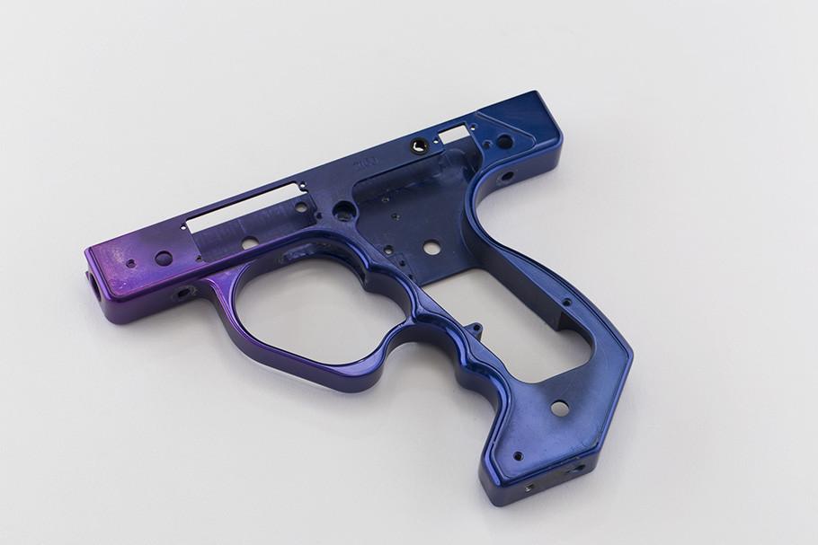 Classic Frame- Purple w/ Blue Fade