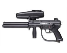 Tippmann A-5 w/ Stealth Flatline